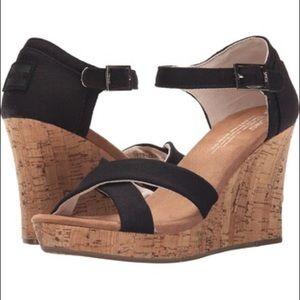 Toms wedge heel
